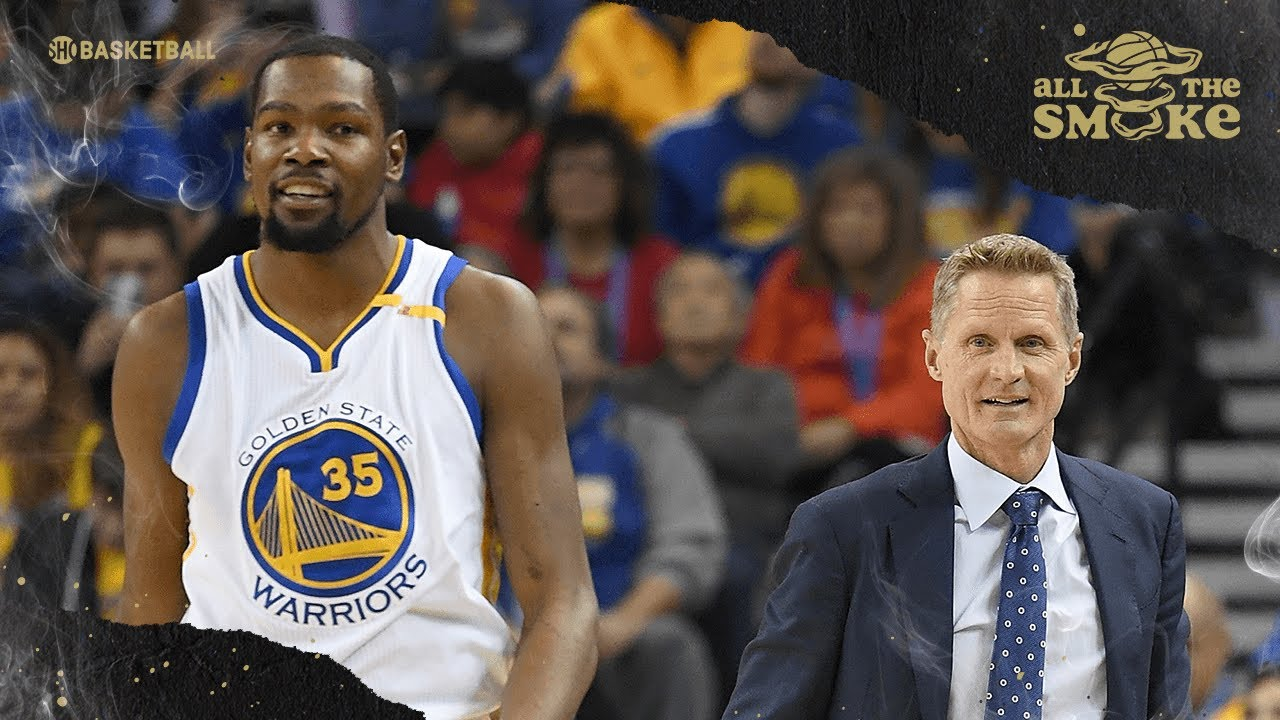 Steve Kerr Discusses Kevin Durant's Injury In 2019 NBA Finals & Leaving For Brooklyn   ALL THE SMOKE