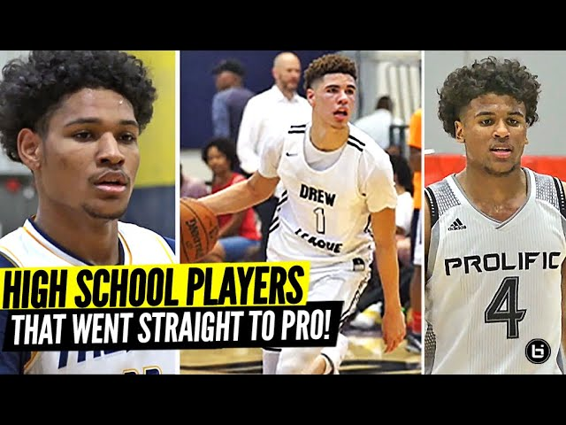 The 15 BEST High School Players Of The Decade Who Went PRO STRAIGHT OUT OF HIGH SCHOOL!