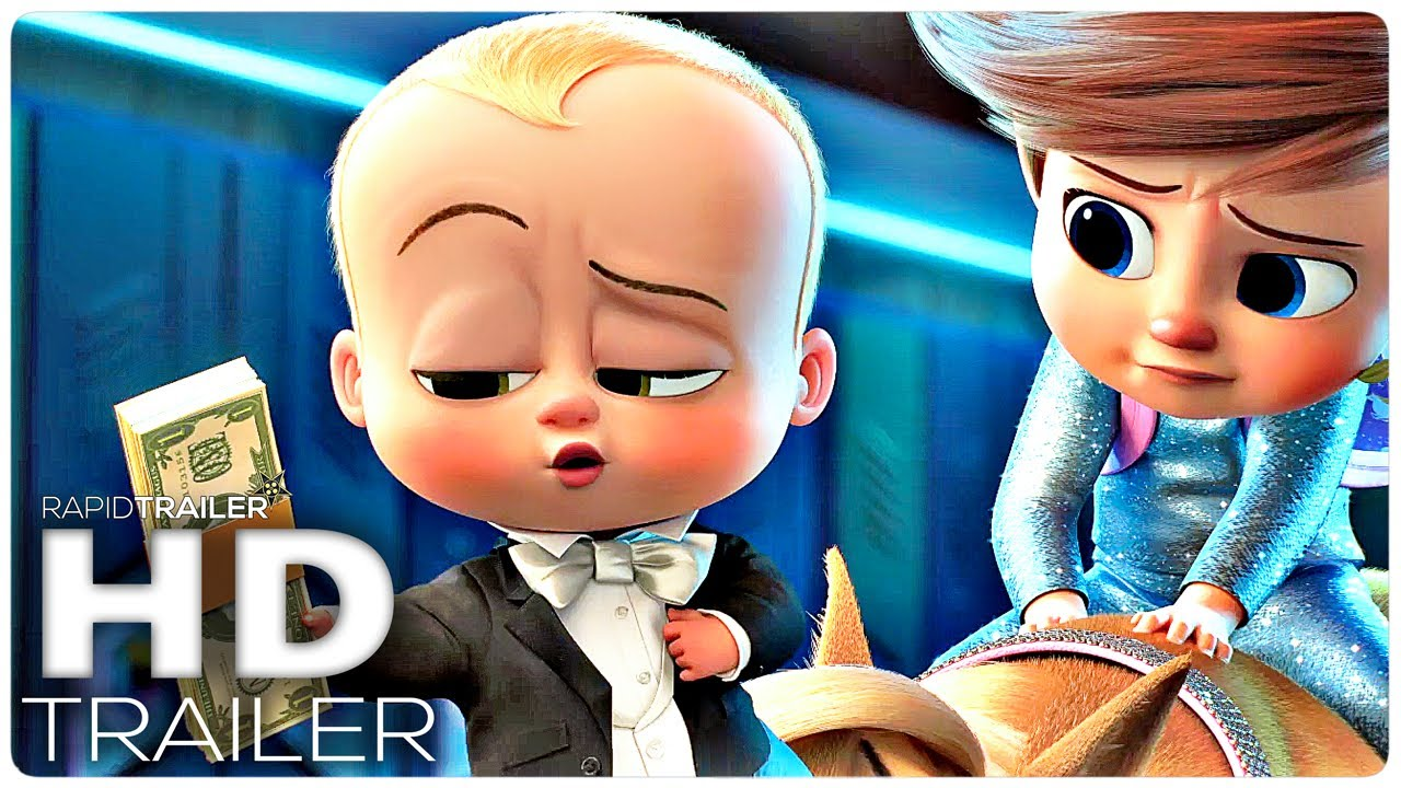 THE BOSS BABY 2 Official Trailer (2021) Family Business, Animated Movie HD