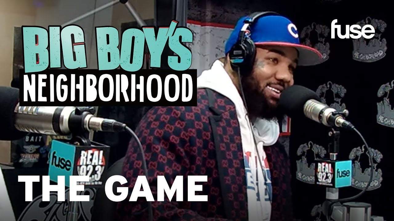 """The Game Shares that Nipsey Hussle Is the Inspiration Behind """"Born 2 Rap""""   Big Boy x Fuse"""