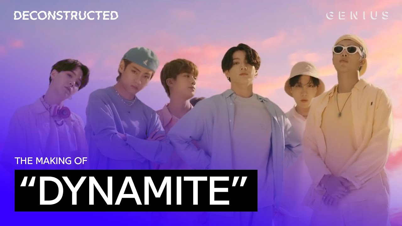 """The Making Of BTS' (방탄소년단) """"Dynamite"""" With David Stewart 