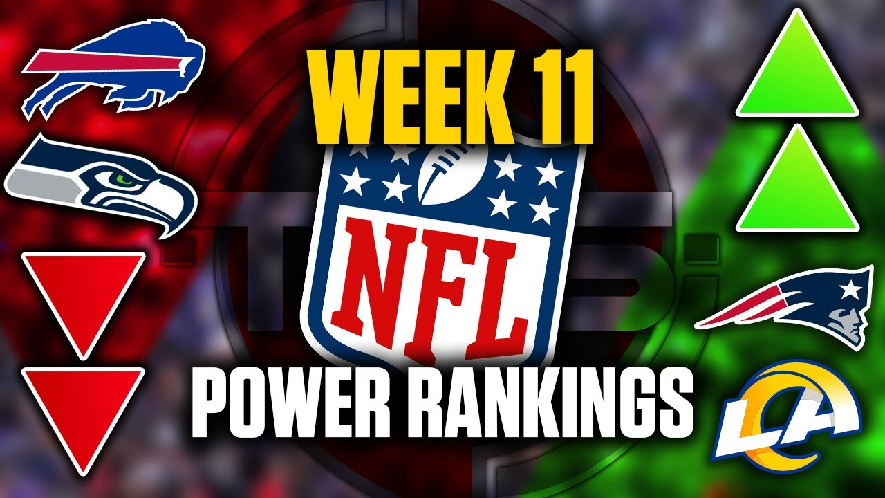 The Official 2020 NFL Power Rankings (Week 11 Edition) || TPS