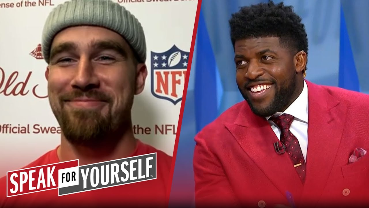 Travis Kelce speaks on Chiefs' dynasty, Patrick Mahomes, Raiders rivalry | NFL | SPEAK FOR YOURSELF