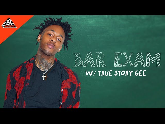 True Story Gee Takes The 'Bar Exam' | All Def Music