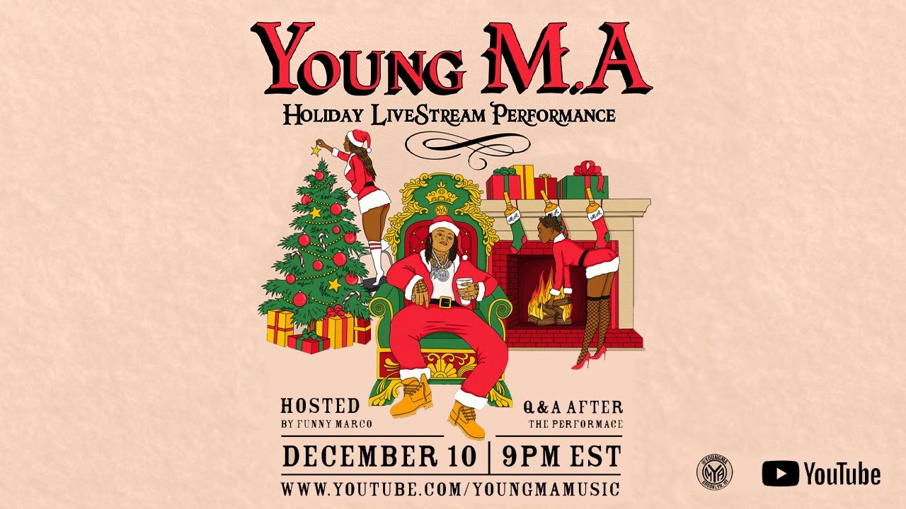 Young M.A Holiday Livestream Performance + Q&A