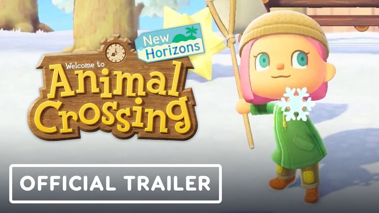 Animal Crossing: New Horizons - Official Exploring January Trailer