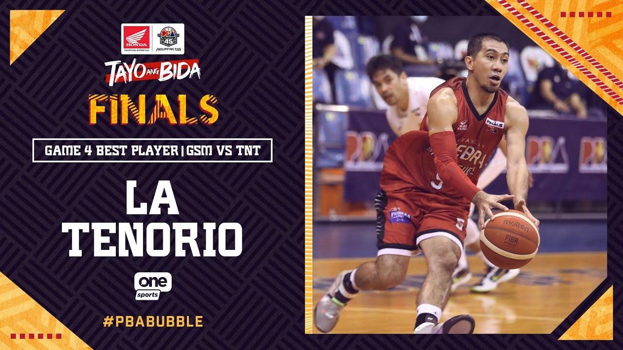 Best Player: LA Tenorio | PBA Philippine Cup 2020 Finals