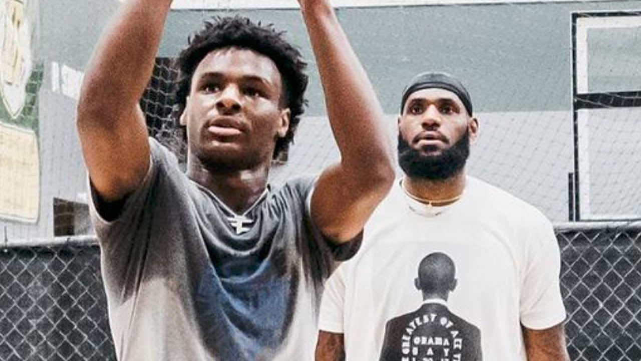 """Bronny James Is No Longer Just """"LeBron's Son,"""" How Did He Become More Famous Than His Dad?"""