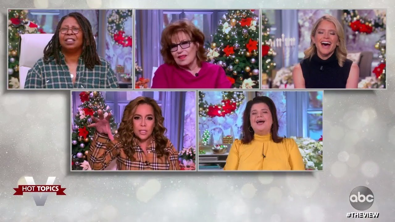 Compensating for Miserable Year With Overwhelming Holiday Cheer? | The View