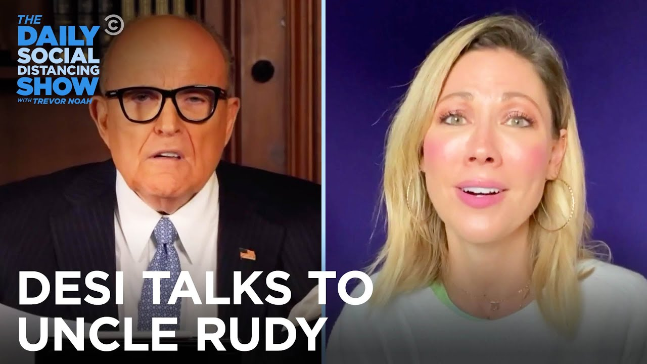 Desi Lydic's Quarantine Check-In With Rudy Giuliani | The Daily Social Distancing Show