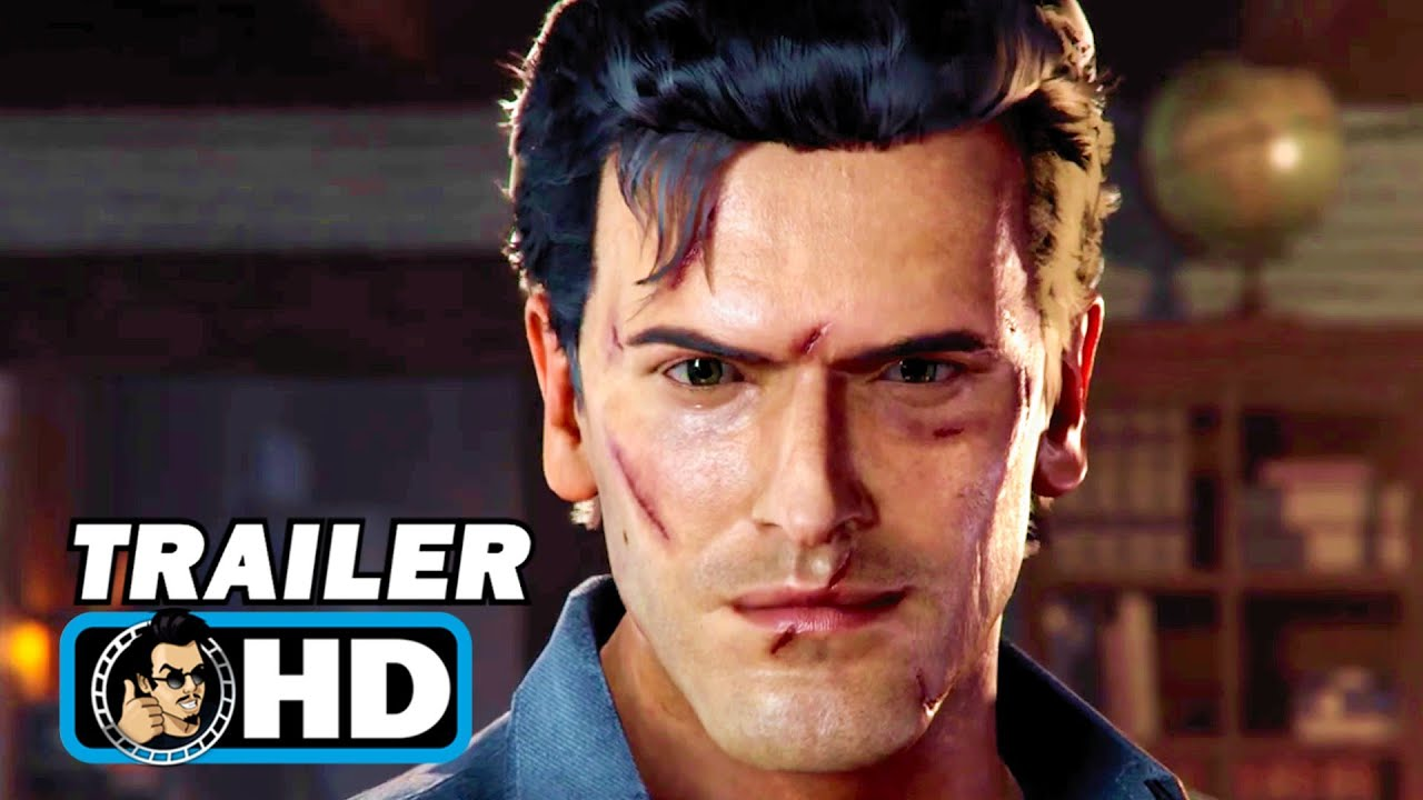 EVIL DEAD: THE GAME Trailer (2021) Bruce Campbell Horror Game