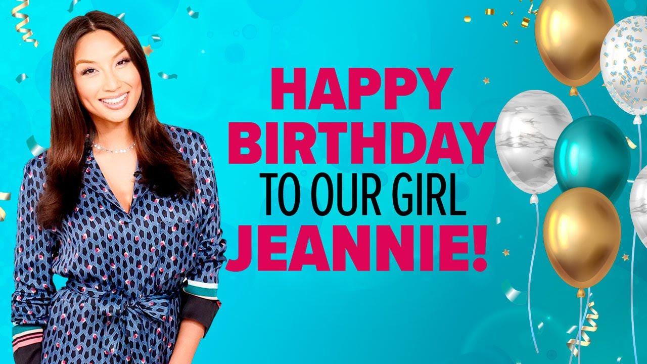 Happy Birthday Jeannie!