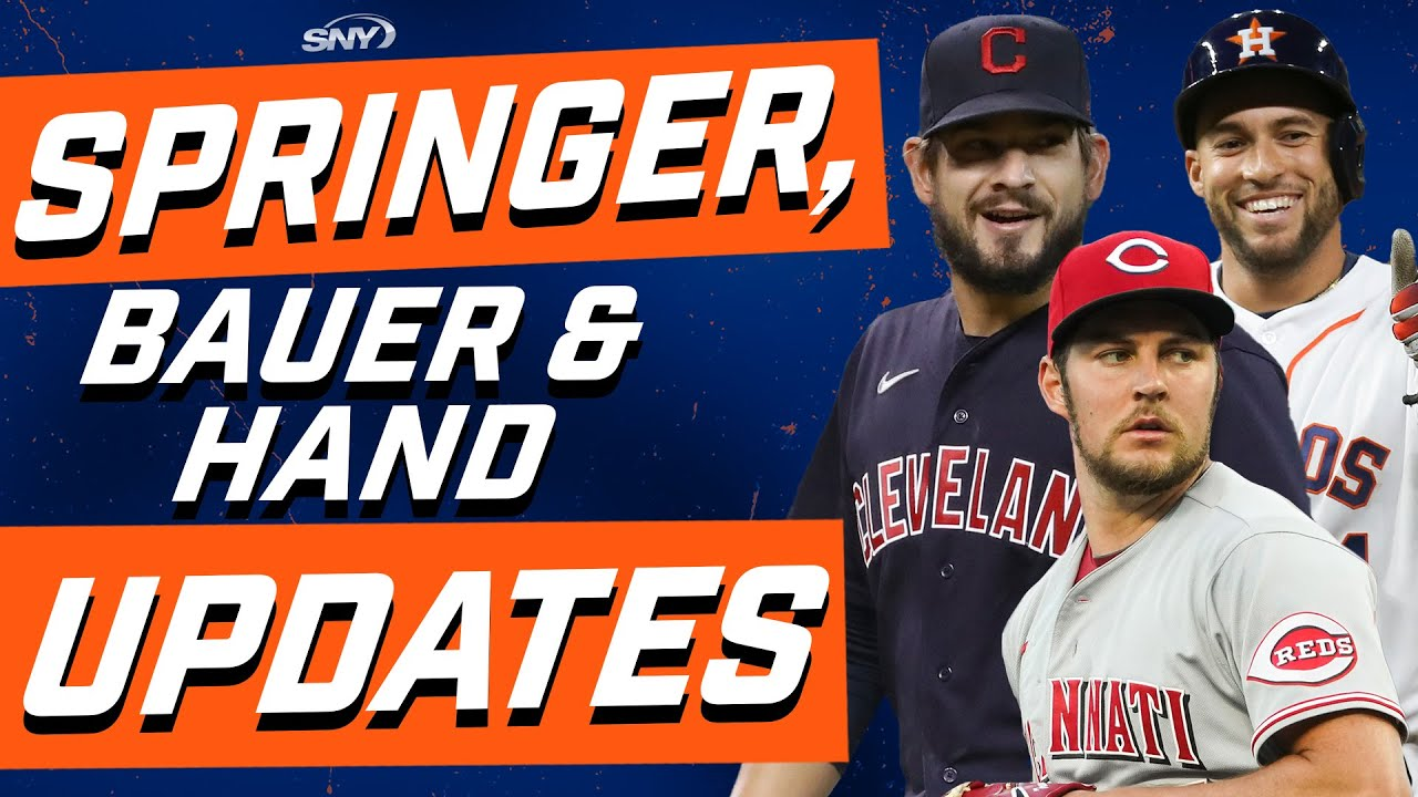 Here's the latest news on George Springer, Trevor Bauer, and Brad Hand | New York Mets | SNY