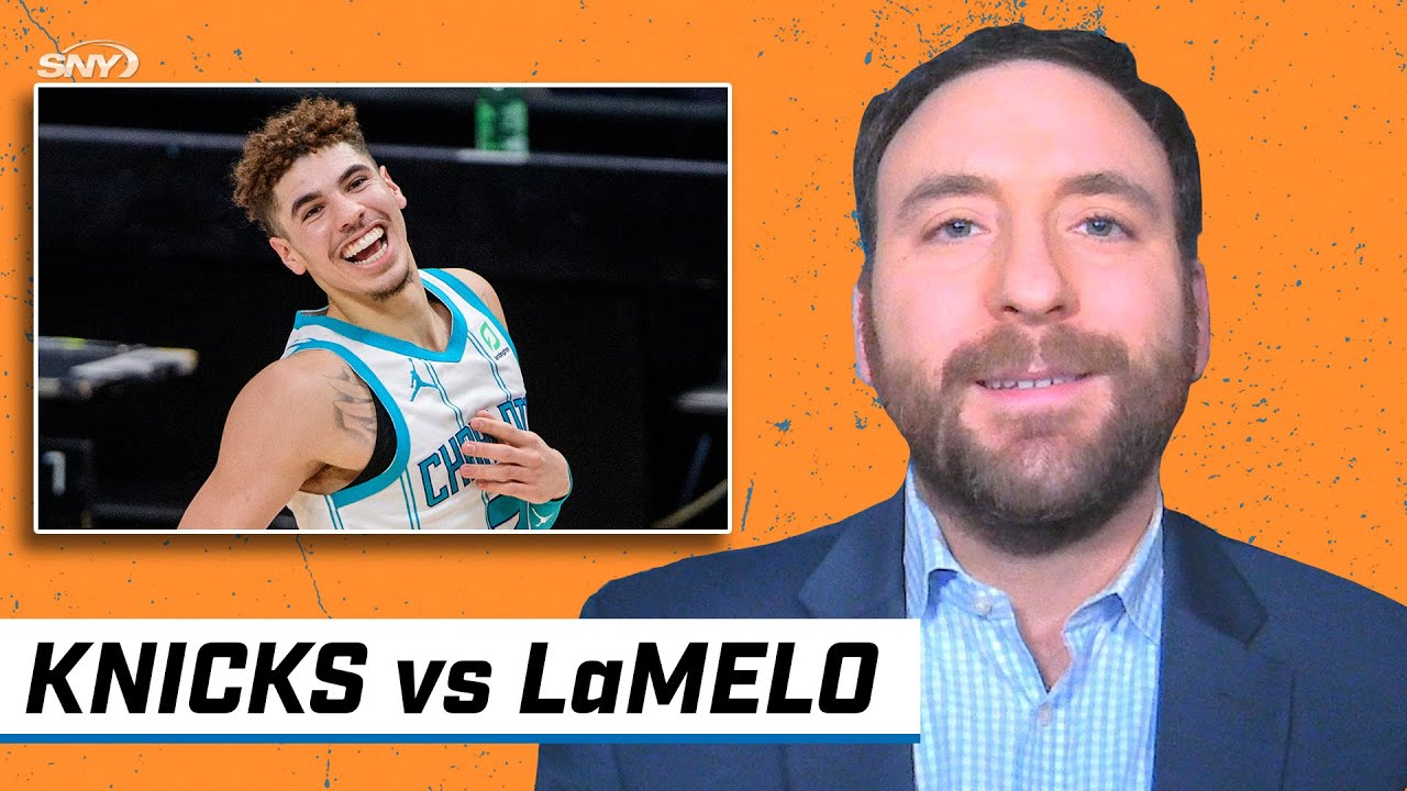 Ian Begley previews the Knicks matchup with LaMelo Ball and the Hornets | New York Knicks | SNY