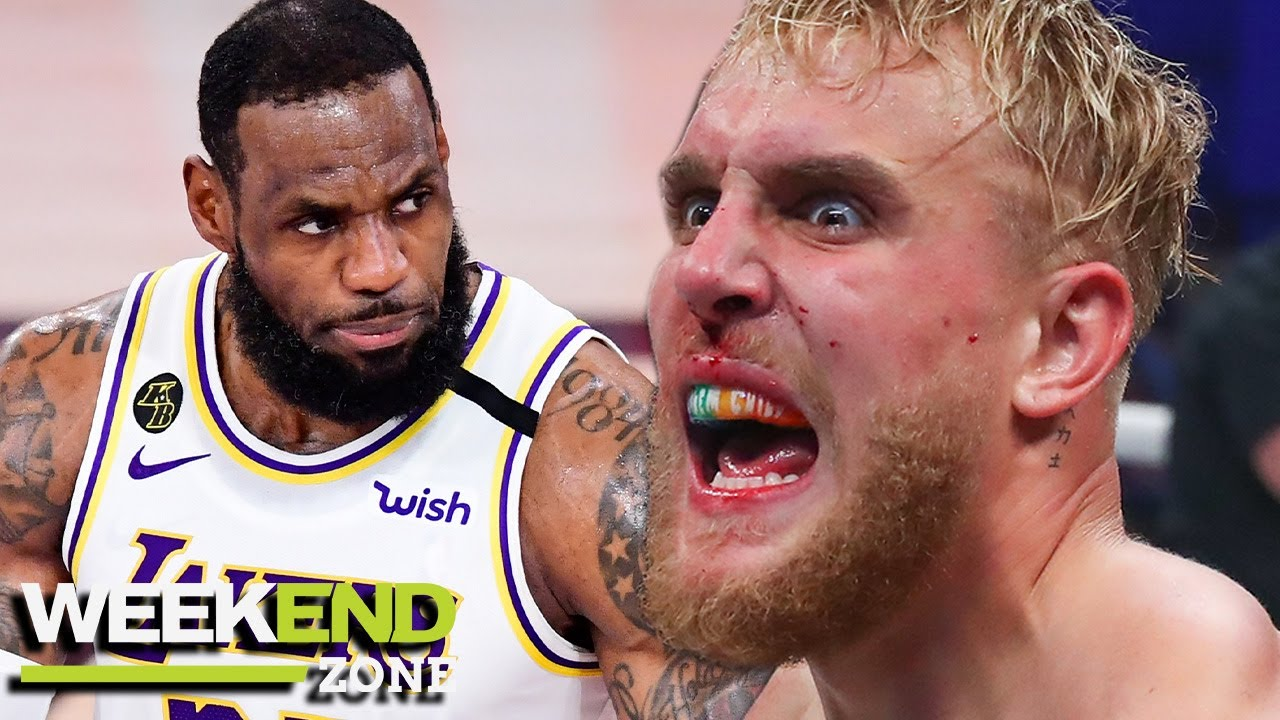 Jake Paul Calls Out LeBron James On Twitter, Dez Bryant Caught In COVID Mess & Our Games Of The Week