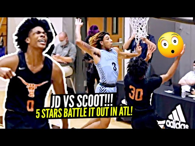 JD Davison vs Scoot Henderson!! 5 STARS GO HEAD TO HEAD IN ATLANTA!!!