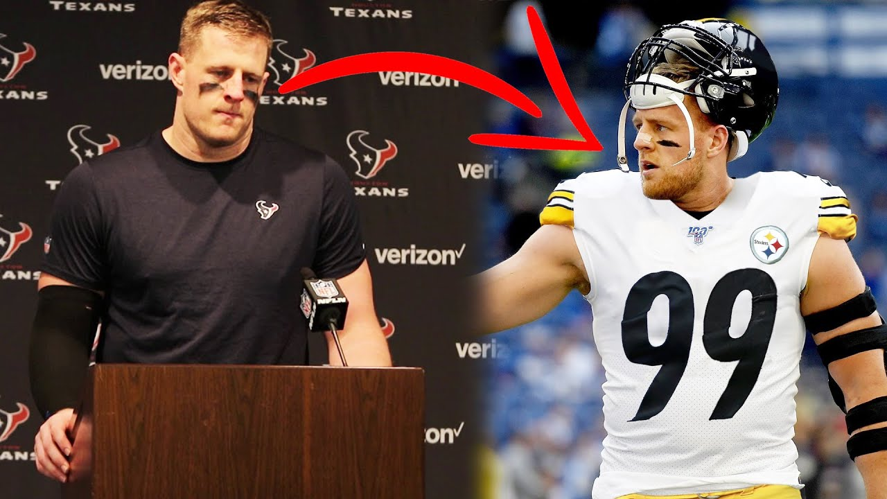 """JJ Watt WILL LEAVE THE HOUSTON TEXANS after this year since """"He's Not Here to Rebuild"""" & they are"""