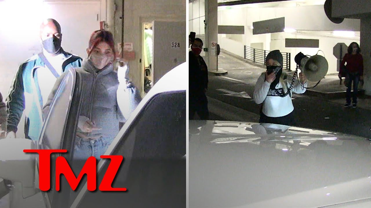 Kylie Jenner Attacked by Animal Rights Activists Over Fur | TMZ