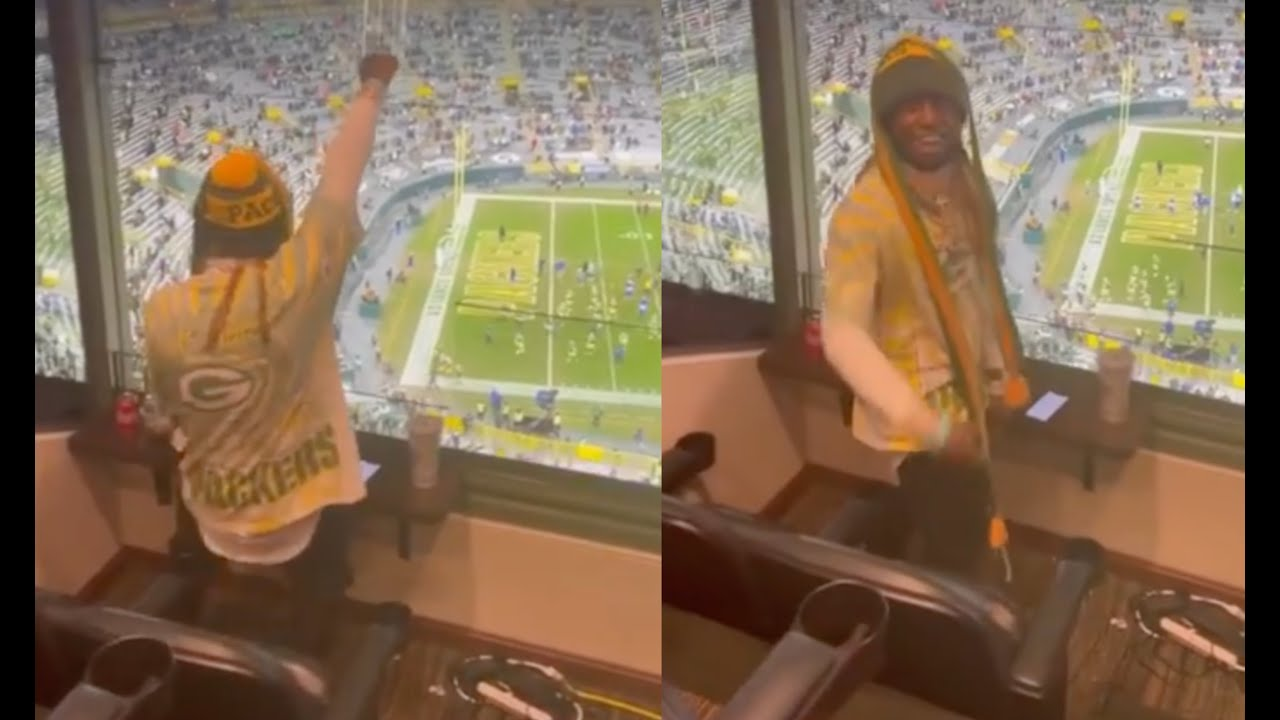 Lil Wayne Can't Stop Dancing After Packers Make NFC Championship