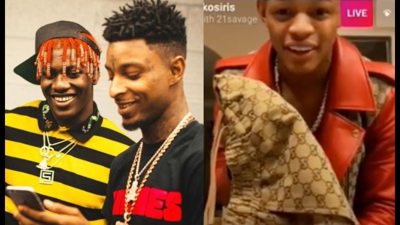 Lil Yachty 21 Savage Have A Funeral Service For YK Osiris Gucci Outfit