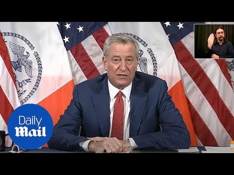 Mayor de Blasio says two new cases of UK variant 'super-Covid' found in NYC