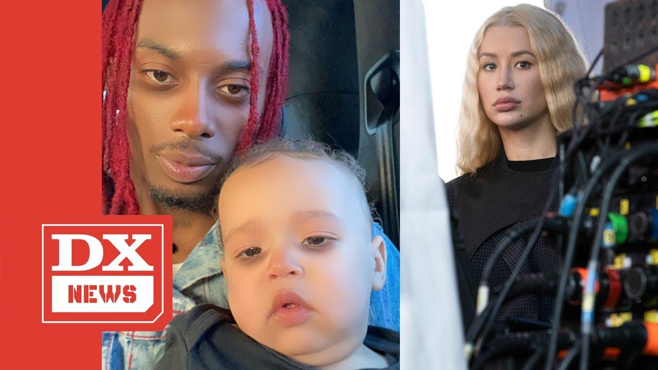 "Playboi Carti Shows His Son Off In The Studio After Iggy Azalea Calls Him A ""Deadbeat"""