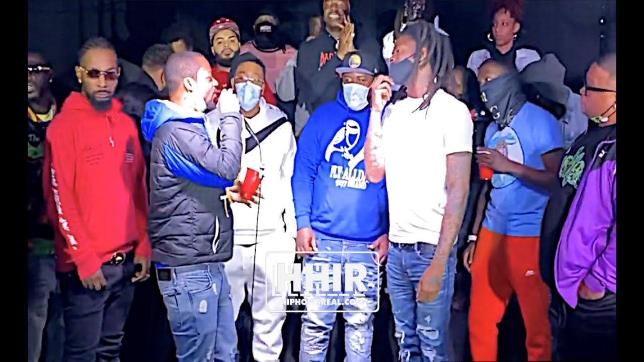 QLEEN PAPER IMPERSONATES DNA TOOTH HOSTING CHEF TREZ VS CELLY CELL AT HIT LIST BATTLE LEAGUE