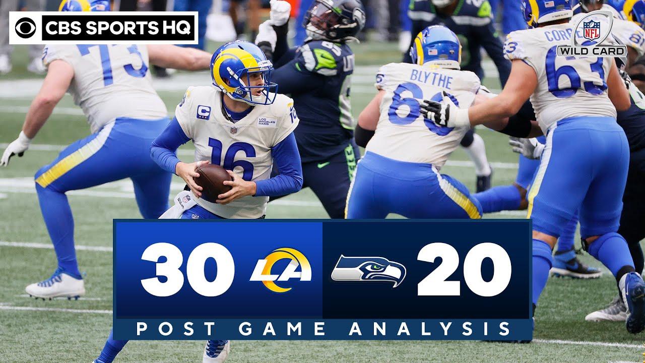 Rams vs Seahawks: Jared Goff leads LA past Seattle despite injury | CBS Sports HQ