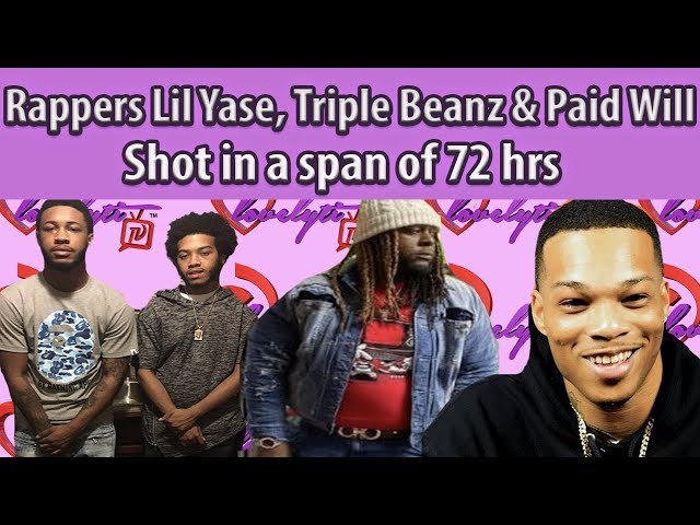 Rappers steadily losing their lives in 2020 Lil Yase, Triple Beanz & BandGang's Paid Will shot