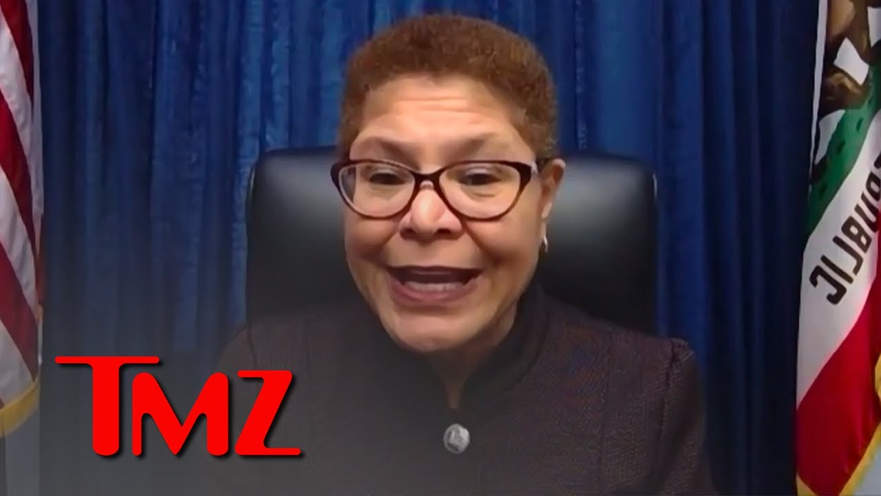 Rep. Karen Bass Angry About Capitol Breach, Worried for Trump's Final Days   TMZ