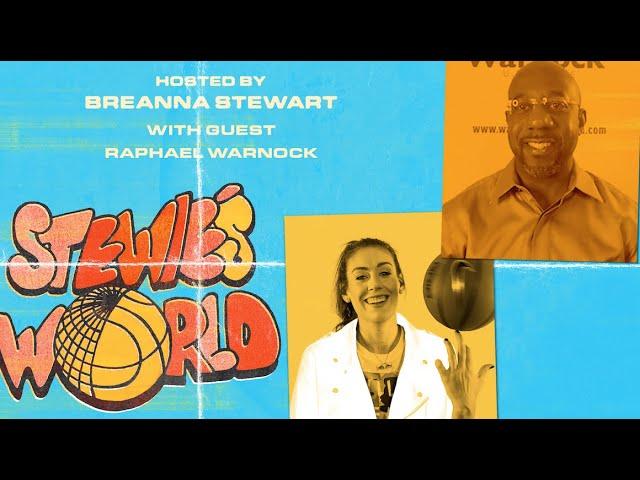 Reverend Raphael Warnock On Georgia's Senate Runoff Election & The WNBA's Activism   STEWIE'S WORLD