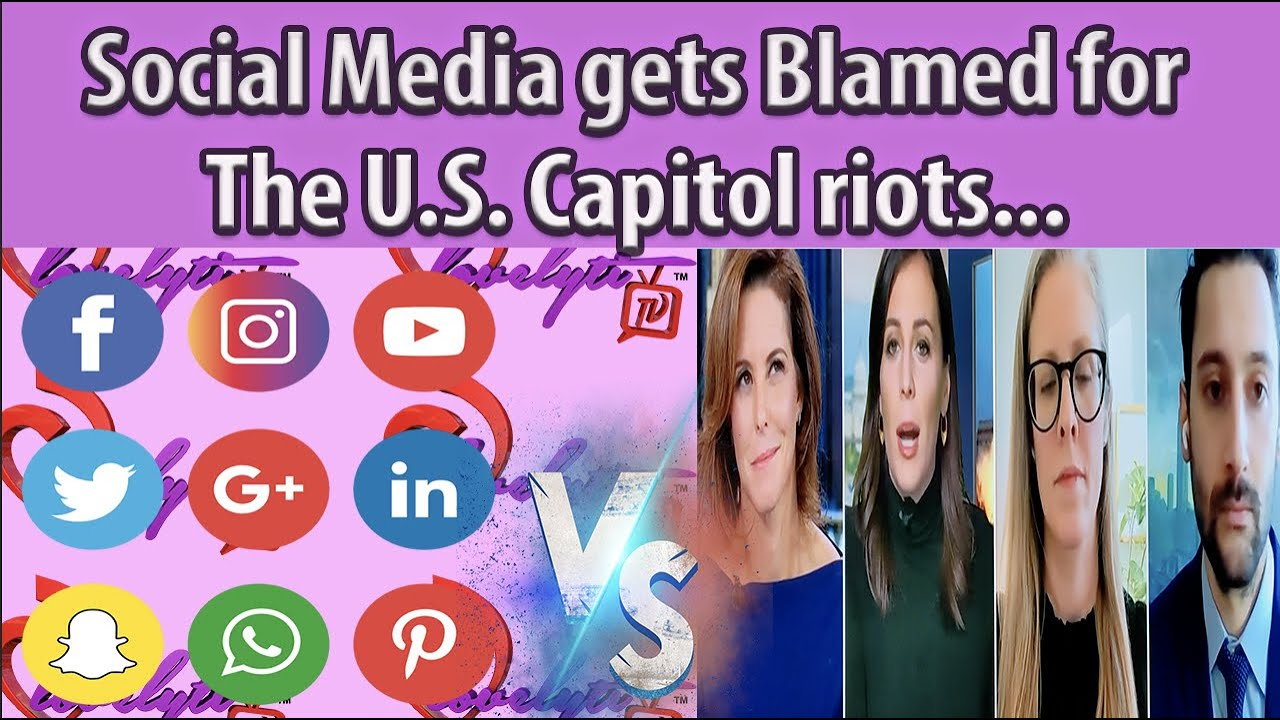 Social Media gets Blamed for The U.S. Capitol riots+why is the Living embodiment of Odin everywhere?