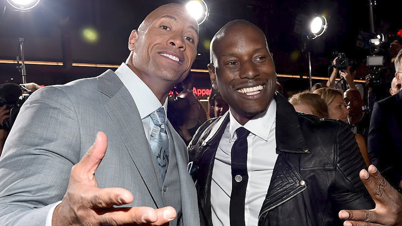 Tyrese Gibson And Dwayne 'The Rock' Johnson Finally End 'Fast' Feud!