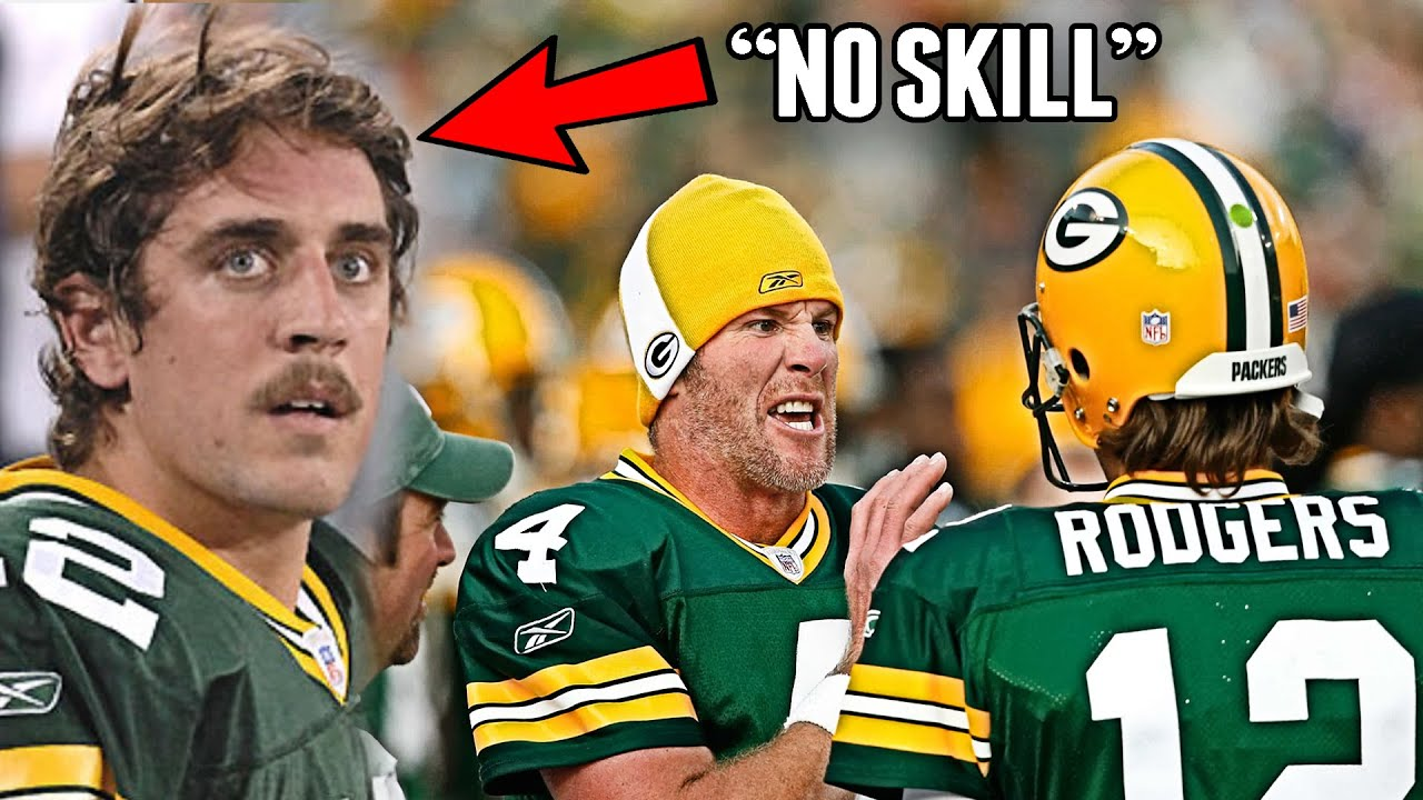 What You Don't Know About Aaron Rodgers Rivalry With Brett Favre