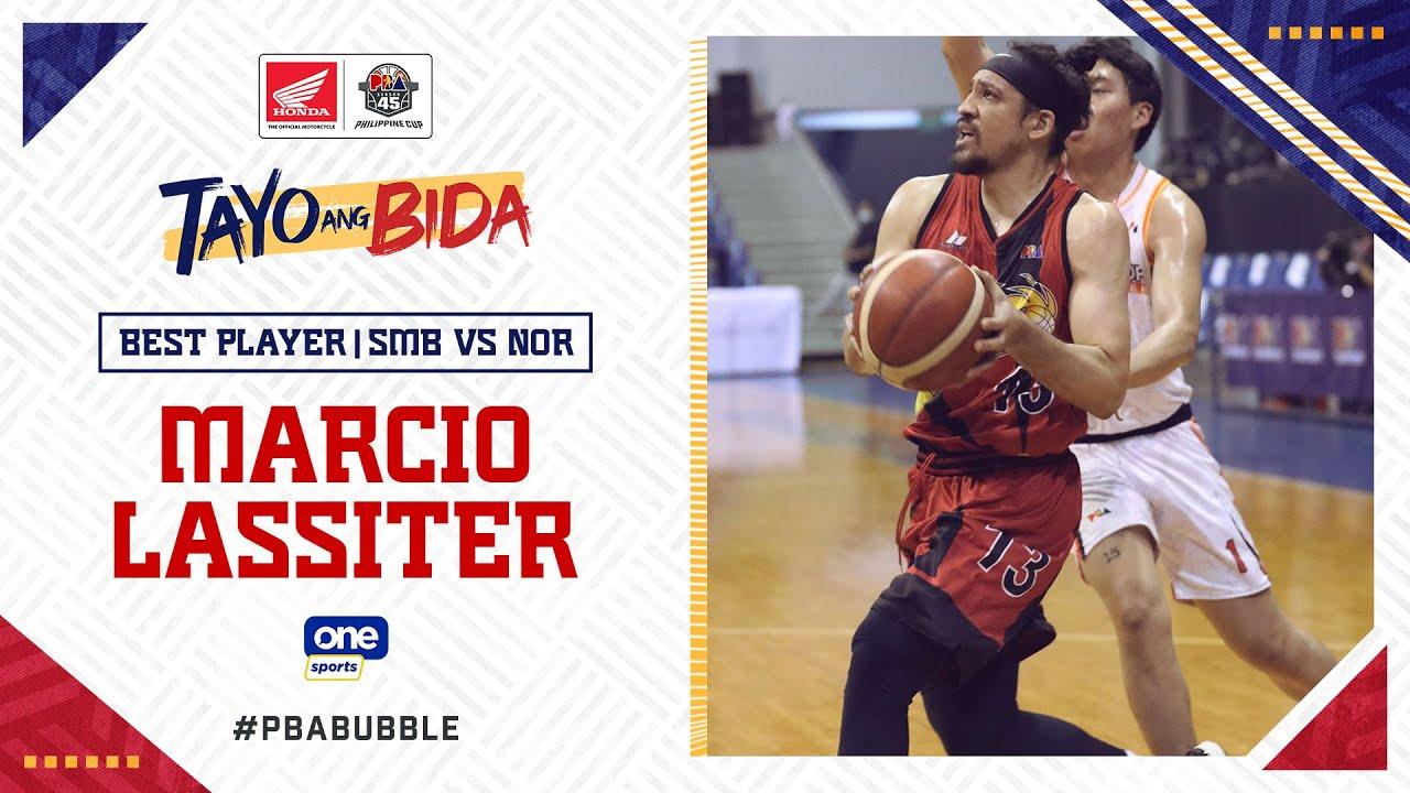 Best Player: Marcio Lassiter   PBA Philippine Cup 2020