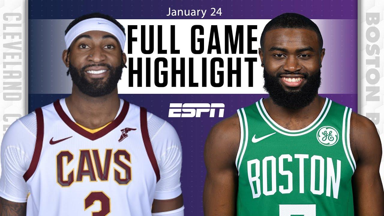 Cleveland Cavaliers vs. Boston Celtics [FULL GAME HIGHLIGHTS] | NBA on ESPN
