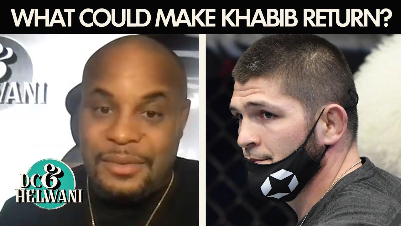 DC proposes a situation that could make Khabib Nurmagomedov return | DC & Helwani | ESPN MMA