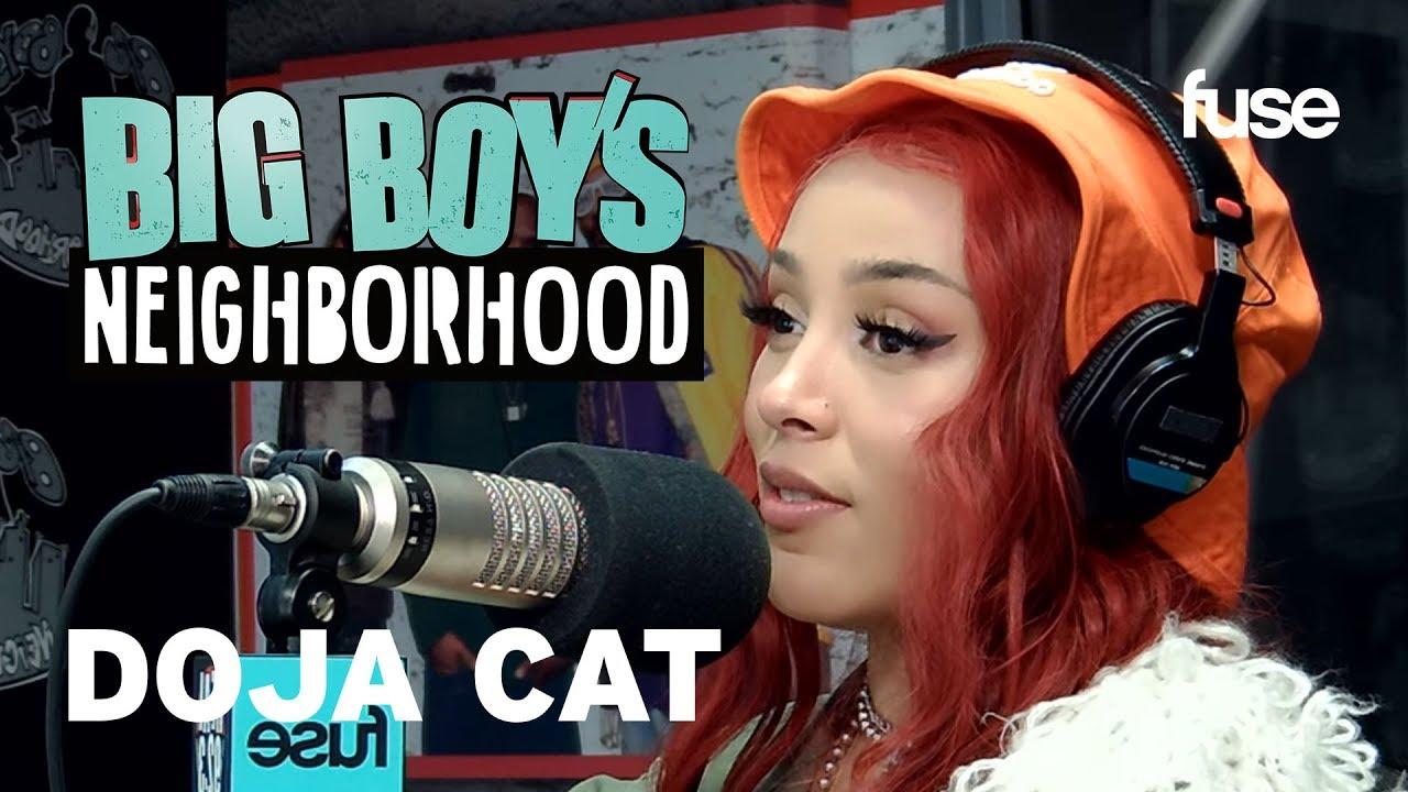"Doja Cat Shares Her Top 5 Rappers & Talks ""Hot Pink""   Big Boy x Fuse"