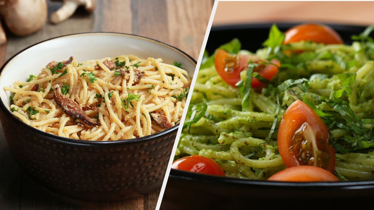 Healthy Pasta Recipes You Can't Resist