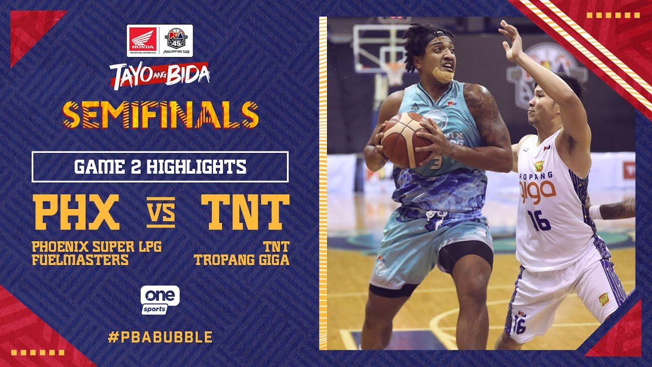Highlights G2: Phoenix vs TNT   PBA Philippine Cup 2020 Semifinals