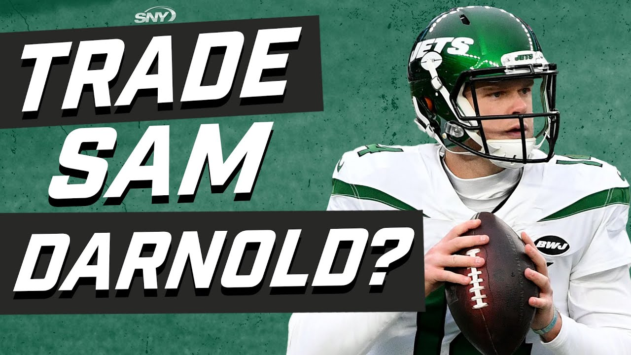 How high is Sam Darnold's trade value? | New York Jets | SNY