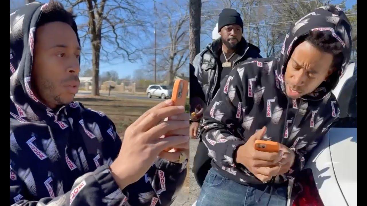 Ludacris Finds His Stolen Car Confronts Thief's That Took It In Atlanta