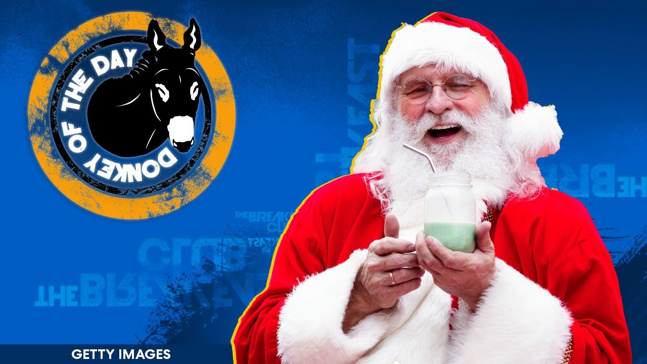 Mall Santa Denies Kid Nerf Gun For Christmas