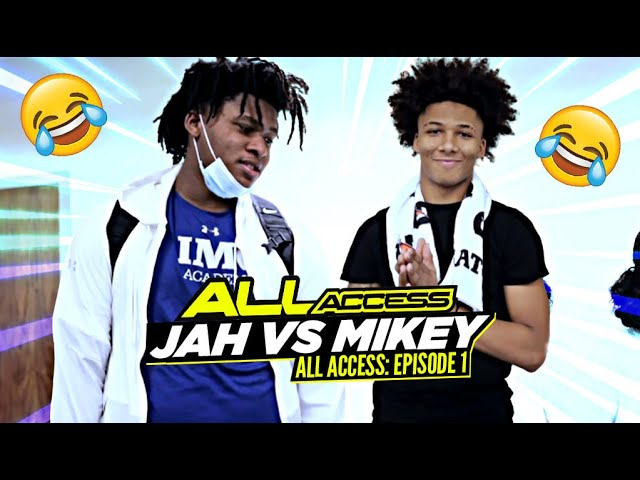 Mikey Williams & Jahzare Jackson REUNITE | All  Access Episode 1