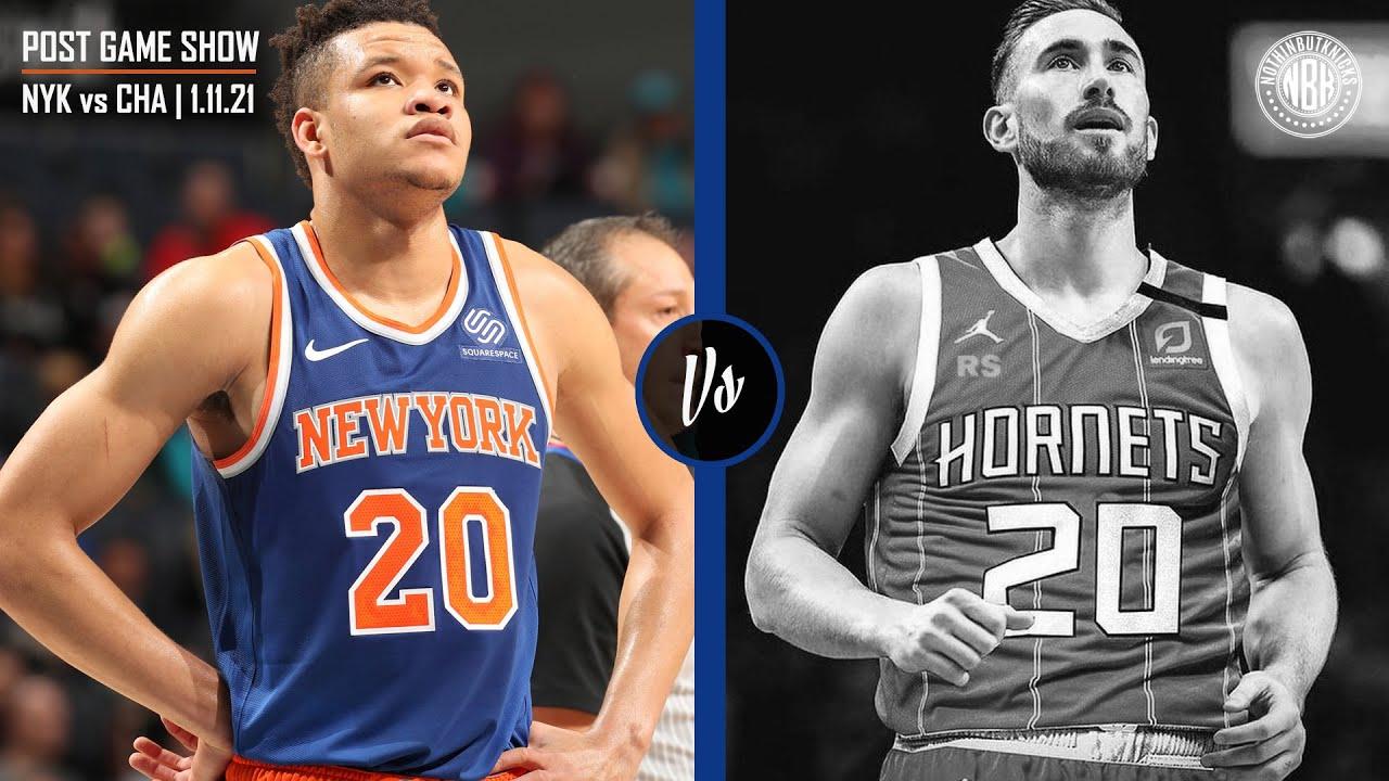 New York Knicks vs Charlotte Hornets Post Game Show
