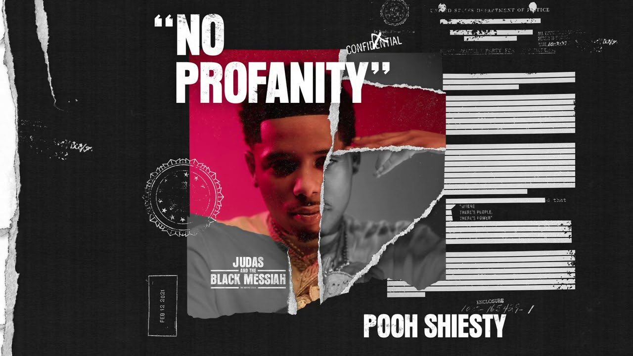 Pooh Shiesty - No Profanity (Official Audio) [From Judas And the Black Messiah: The Inspired Album]
