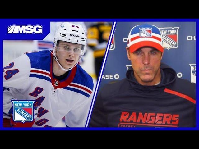 Quinn Talks Kakko Back on Panarin's Line & Hajek Making Season Debut | New York Rangers