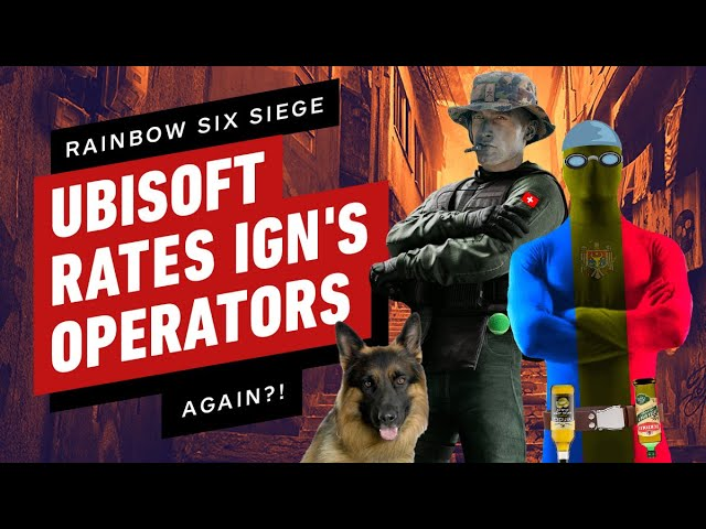 Rainbow Six Siege's Game Designers Rate MORE IGN Operator Ideas