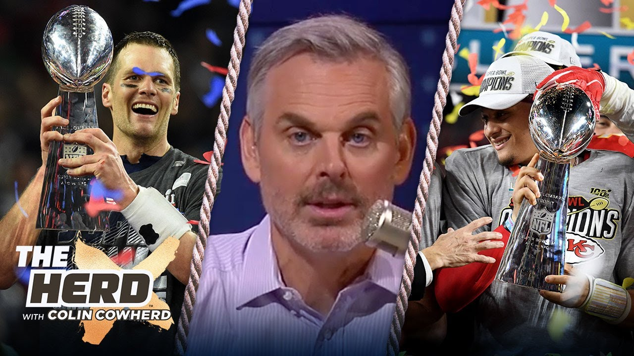 Tampa Bay Bucs or Kansas City Chiefs — Colin Cowherd makes his Super Bowl LV pick | NFL | THE HERD