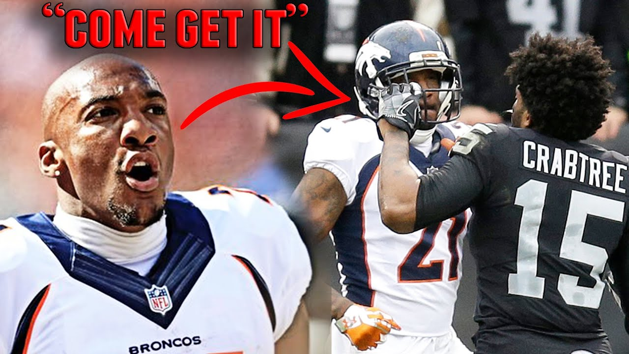 The Aqib Talib vs. Michael Crabtree Rivalry Involved a Stolen Chain in the Middle of a NFL Game